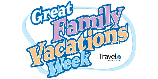 Logo For Travel Channels Great Family Vacations Week